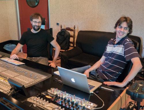 Eduard Gener and Andreu Moreno – tracking drums