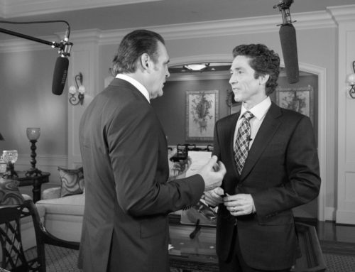 Houston – Joel Osteen interview